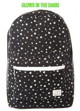 Glow In The Dark Polka Dot Backpack
