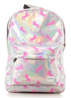 Silver Pink Unicorns OG Backpack