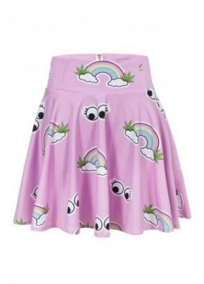 Rainbow Skater Skirt