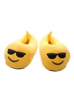 Sunglasses Emoji Slippers