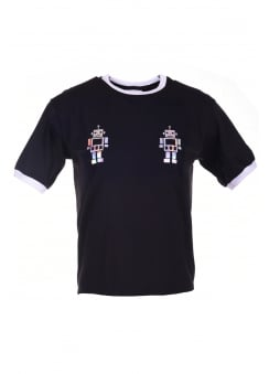 Holographic Robot Ringer Tee