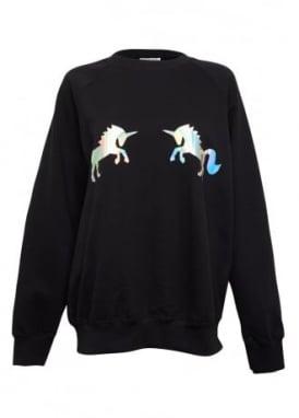 Holographic Unicorn Jumper