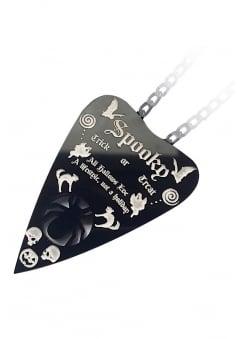 Spooky Planchette Necklace