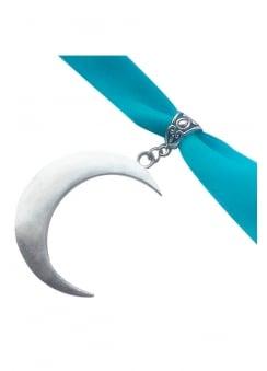 Turquoise Moon Choker
