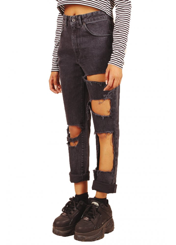 The Ragged Priest Claw Mom Jeans | Attitude Clothing Ragged Clothes