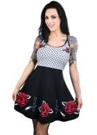 Switchblade Roses Ginger Dress