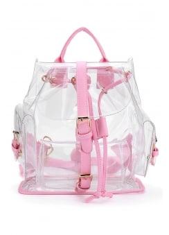 Transparent PVC Backpack
