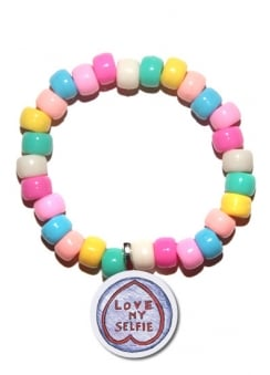 Love My Selfie Candy Bracelet