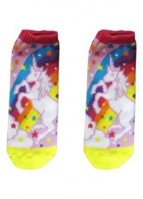 Unicorn Ankle Socks
