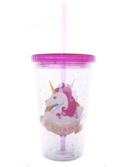 Unicorn Straw Cup
