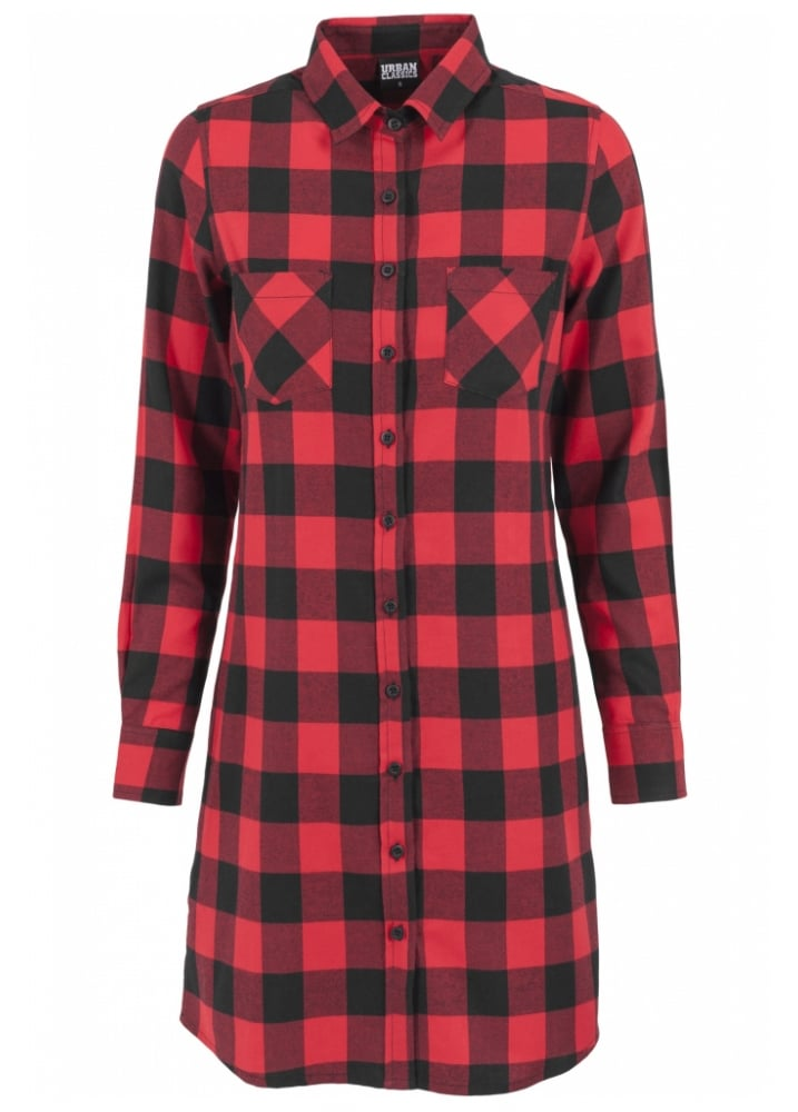 Girls' Little Flannel Shirt Dress with Mesh Skirt and Belt. from $ 35 38 Prime. out of 5 stars 2. Halife. Womens Plaid Striped Swing Tunic Dress Long Sleeve T-Shirt Dress w/Pockets. from $ 15 99 Prime. out of 5 stars Boosouly. Womens Plaid Print Scoop Neck Casual Swing Tunic Mini Dress .