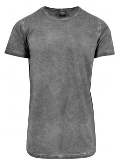 Cold Dyed Extra Long Tee