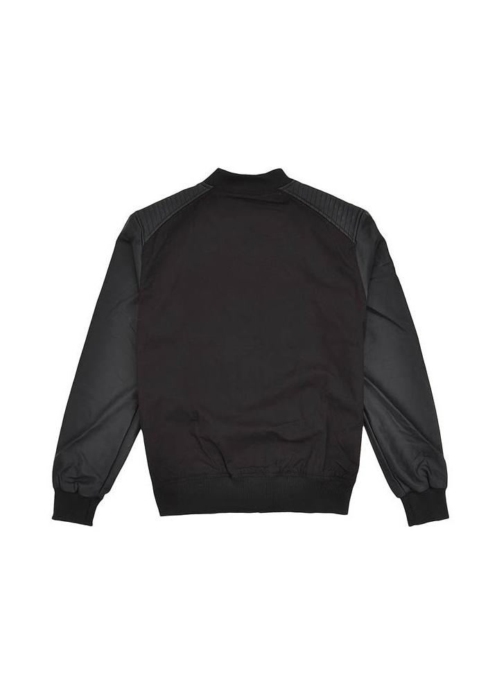 urban classics bomber leather imitation jacket attitude clothing. Black Bedroom Furniture Sets. Home Design Ideas
