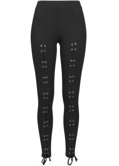 Laced Up Front Leggings