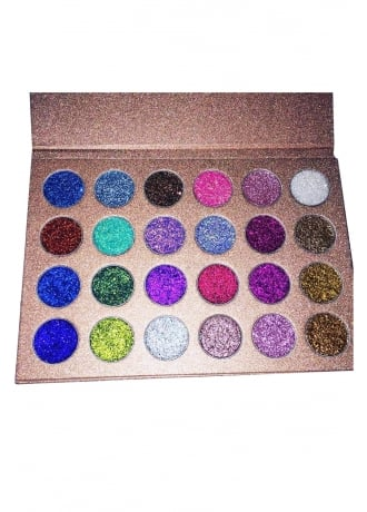 VE Cosmetics Fairy Farts Pressed Glitter Palette