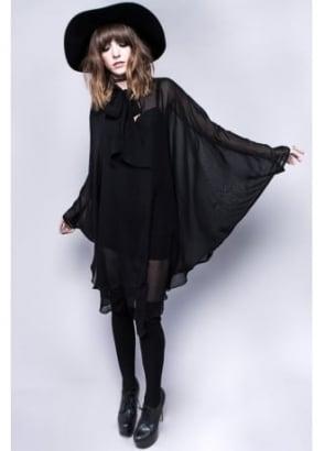 Death Wish Chiffon Dress