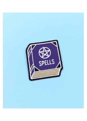 Witch Worldwide Spell Book Iron-On Patch