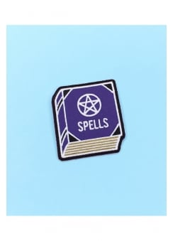 Spell Book Iron-On Patch