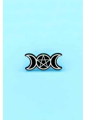 Witch Worldwide Triple Moon Pin