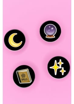 Witch Emoji Badge Pack