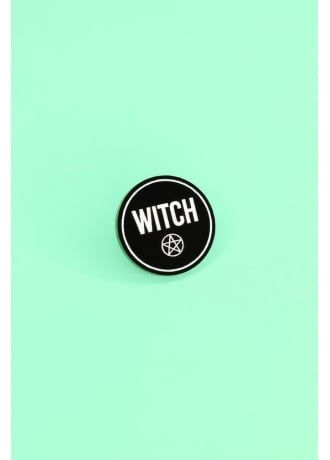 Witch Worldwide Witch Letters Pin