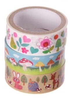 Woodland Tape Set