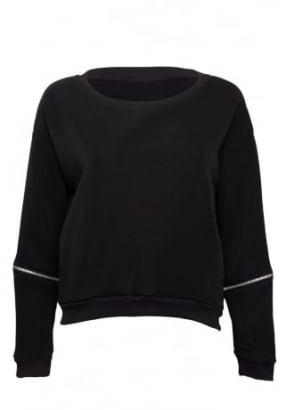 Zip Sleeve Sweatshirt